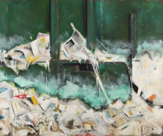 Mixed Media on Canvas, 150x180cm, 2012