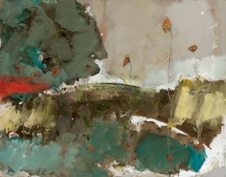 Mixed Media on Canvas, 120x140cm, 2013