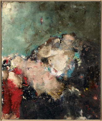 Mixed Media on Canvas, 140x120cm, 2013