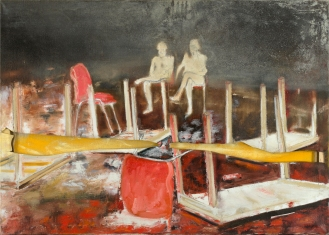 Mixed Media on Canvas, 140x160cm, 2012