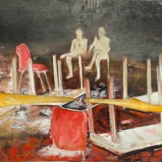 Mixed Media on Canvas, 140x160cm, 2012