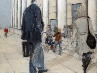 Mixed Media on Canvas, 200x290cm, 2012