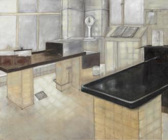 Pathologie, Mixed Media on Canvas, 200x290cm, 2012