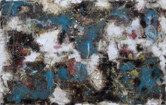 Mixed Media on Canvas, 200x320cm, 2013