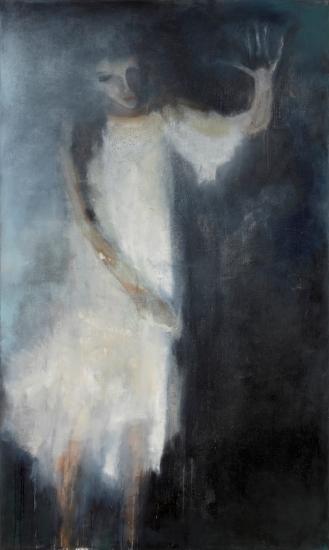 Mixed Media on Canvas, 210x120cm, 2012