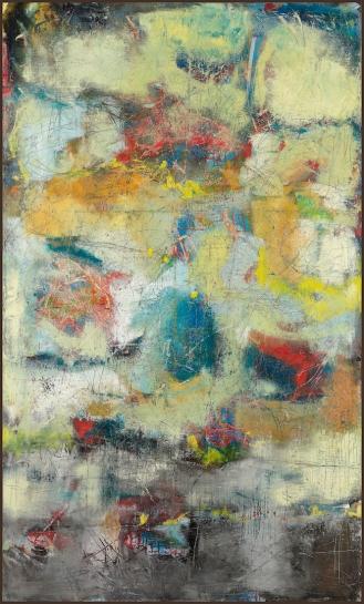 Mixed Media on Canvas, 250x150cm, 2013