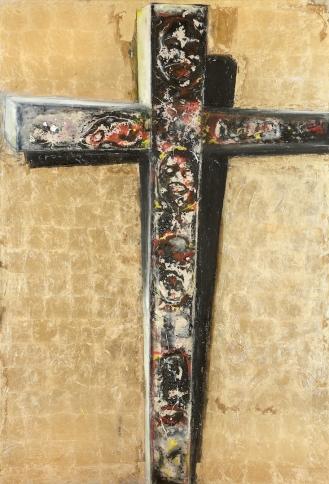 Mixed Media on Canvas, 300x190cm, 2012