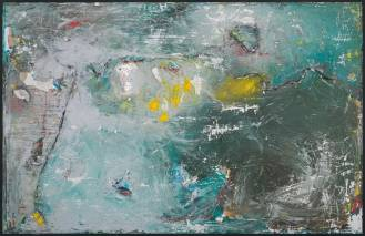 Mixed Media on Cardboard on Canvas, 150x220cm, 2014