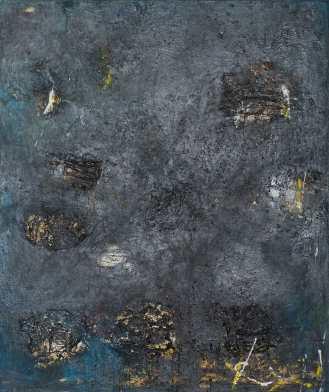 Mixed Media on Cardboard on Canvas, 180x150cm, 2014