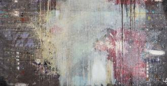 Mixed Media on Canvas, 140x270cm, 2015