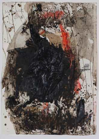 Mixed Media on Canvas, 83x60cm, 2016