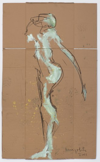 Mixed Media on Canvas, 165x100cm, 2015