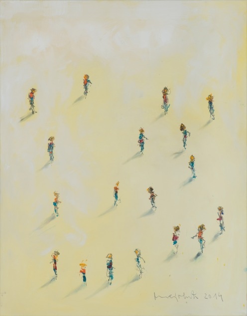 Mixed Media on Canvas, 105x90cm, 2015