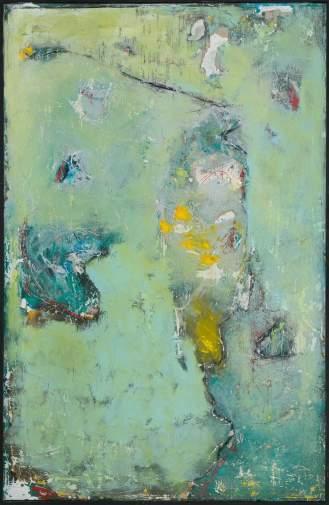 Mixed Media on Canvas, 220x150cm, 2014