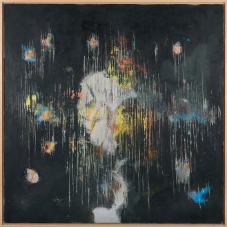 Mixed Media on Canvas, 130x120cm, 2014