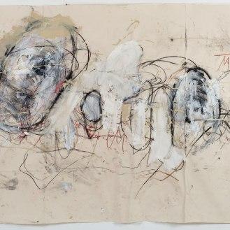 Mixed Media on Canvas, 144x285cm, 2014