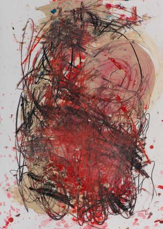 Mixed Media on Canvas, 100x70cm, 2014