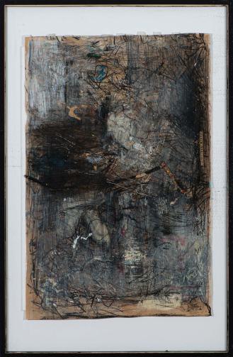Mixed Media on Canvas, 190x125cm, 2016
