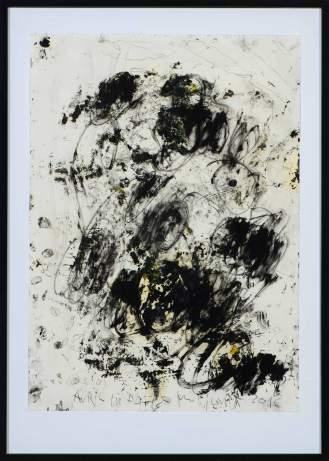 Mixed Media on Canvas, 103x72cm, 2016