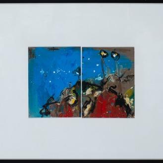 Mixed Media on Canvas, 93x123cm, 2016