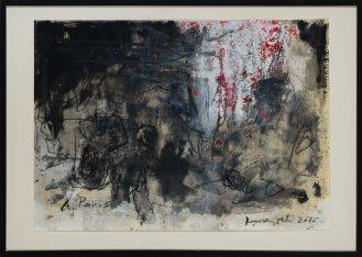 Mixed Media on Canvas, 73x103cm, 2016