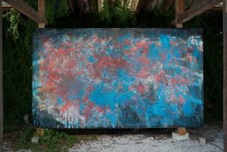 Mixed Media on Canvas, 206x352cm, 2016
