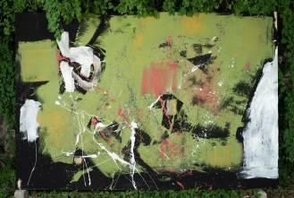 Mixed Media on Canvas, 216x311cm, 2016