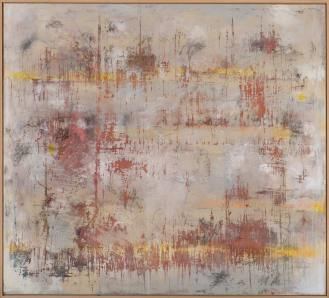 Mixed Media on Canvas, 180x200cm, 2014