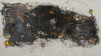 Mixed Media on Canvas, 140x270cm, 2014