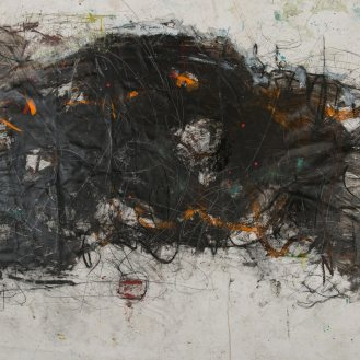 Mixed Media on Canvas, 140x270cm, 2014