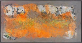 Mixed Media on Canvas, 135x260cm, 2016