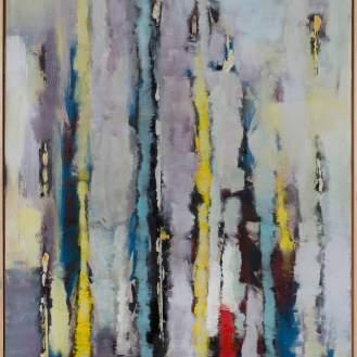 Mixed Media on Canvas, 180x140cm, 2016