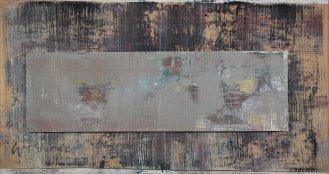 Mixed Media on Canvas, 155x280cm, 2016