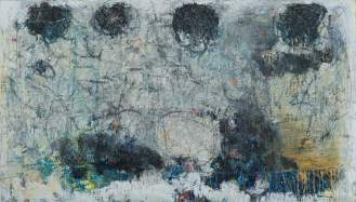 Mixed Media on Canvas, 147x260cm, 2014