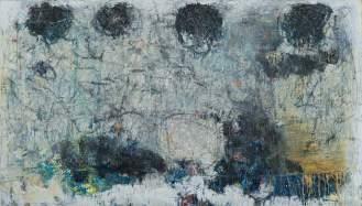 Mixed Media on Canvas, 147x260cm, 2014