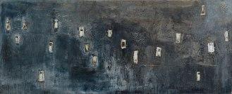 Mixed Media on Canvas, 105x260cm, 2014
