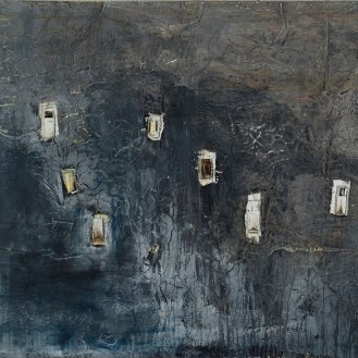Mixed Media on Canvas, 105x260cm, 2014