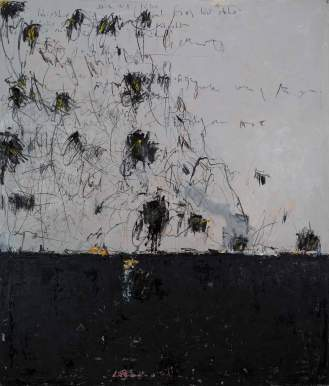 Mixed Media on Canvas, 259x215cm, 2017