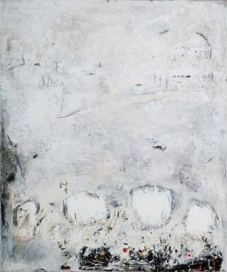 Mixed Media on Canvas, 180x150cm, 2017