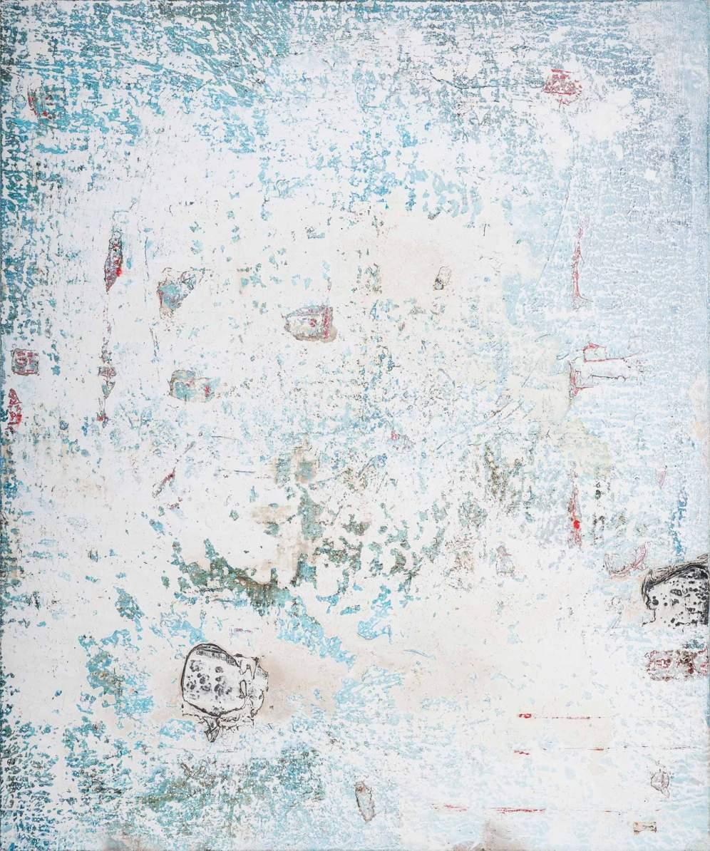 Mixed Media on Canvas, 150x132cm, 2017