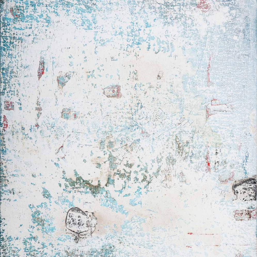 Mixed Media on Canvas, 150x132cm, 2017