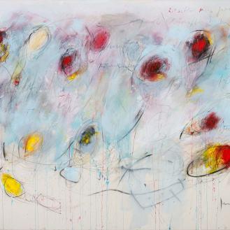 Mixed Media on Canvas, 150x170cm, 2017