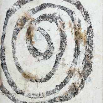 Mixed Media on Canvas, 180x160cm, 2017