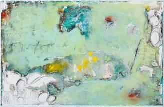 Mixed Media on Canvas, 140x220cm, 2017