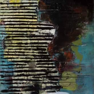 Mixed Media on Canvas, 260x200cm, 2017