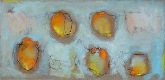 Mixed Media on Canvas, 90x185cm, 2014