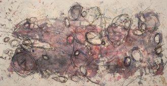 Mixed Media on Canvas, 135x260cm, 2014