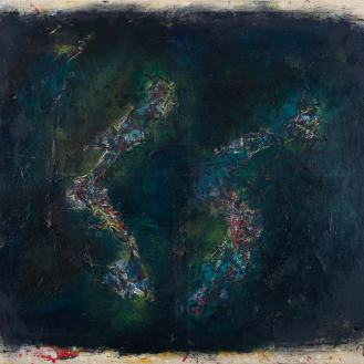 Mixed Media on Canvas, 115x130cm, 2014