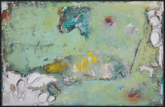 Mixed Media on Canvas, 140x220cm, 2014
