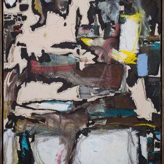 Mixed Media on Canvas, 180x150cm, 2014